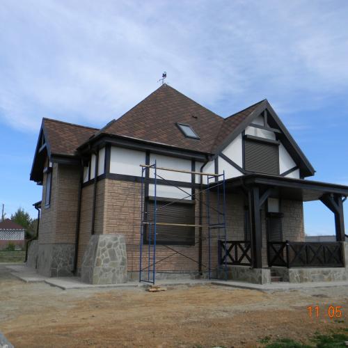 Строительство каменных домов из арболита и кирпича, монолитных домов