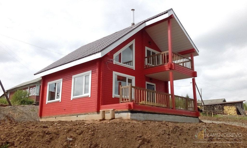 Дом на берегу реки Шексна